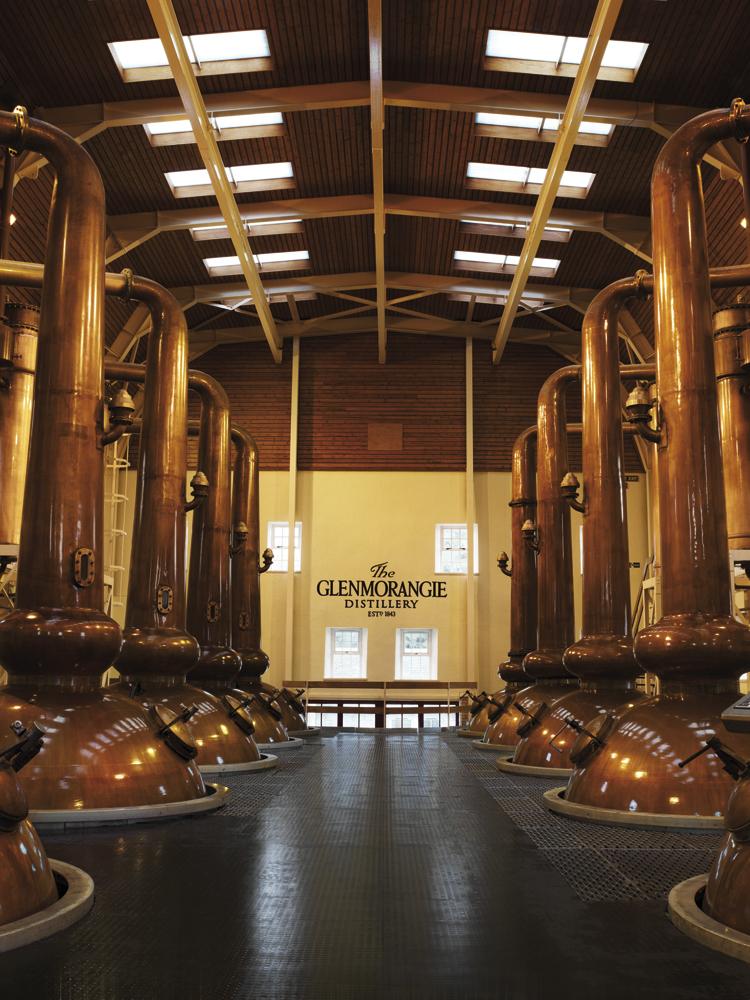 Glenmorangie Destillery © Moët Hennessy