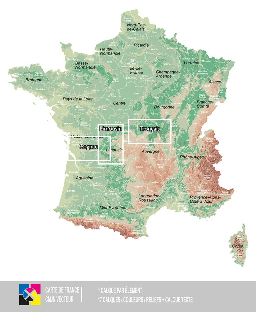 Waldregionen Frankreichs